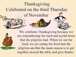 thanksgiving pe