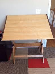 Drafting Table Furniture Antique Vintage