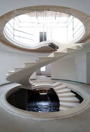 Helical Staircase Design Gallery Of See The Engineering Behind This Floating Award Winning
