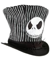 Jack Skellington Costume Jack Skellington Top Hat Accessory At Wonder Costumes
