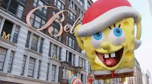 spongebob squarepants gif by the 91st annual macy s thanksgiving day
