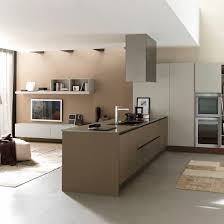 contemporary kitchen laminate island lacquered primavera