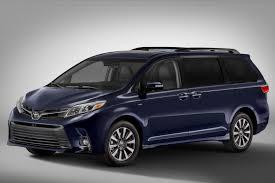 2018 toyota sienna preview news cars com