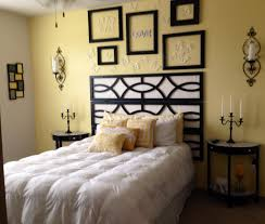 Black And White Bed Black White Bedroom Pale Yellow Accent Wall Minus The Stuff