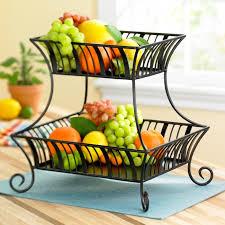 tiered fruit basket pin delaware 2 tier basket no handle with antiqued black finish