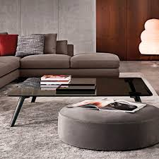 Designer Coffee Tables by Contemporary Coffee Table Wooden Glass Aluminum Sullivan