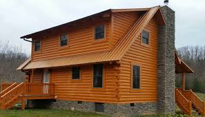 Log Cabin Interior Paint Colors by Permanent House Paint