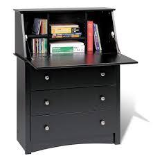 small black desks black desk black secretary desk