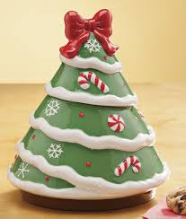 ceramic christmas tree cookie jar walmart com