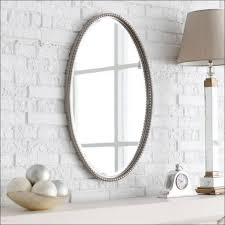 bathroom magnificent oval mirror decorative wall mirrors