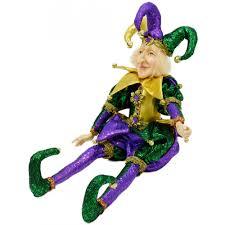 mardi gras jester costume mardi gras jester doll 18 xn4011 craftoutlet