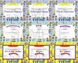preschool graduation invitations preschool pre k pre kindergarten diplomas certificates