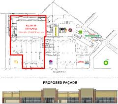 Westgate Town Center Floor Plans Smyrna Tn Multi Tenant Redevelopment Retail Space For Lease