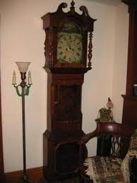 seeks ghosts haunted grandfather clocks