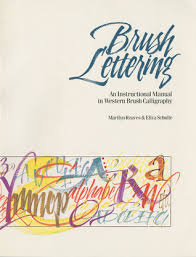 brush lettering an instructional manual of western brush