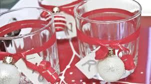 decorazioni bicchieri tavola di natale le decorazioni fai da te pi禮 facili