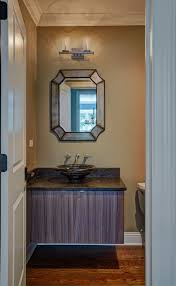 Hardwood In Powder Room Bathroom Portfolio Kitchen Design Partners
