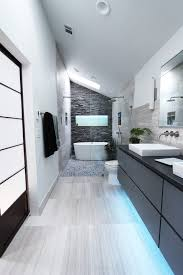 bathroom accent wall ideas accent floor lighting bathroom contemporary with stacked