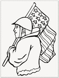 coloring veterans day coloring sheets