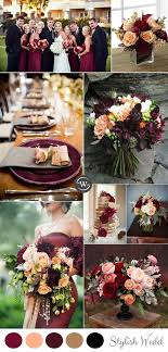 wedding colors the stunning colors of white burgundy wedding wedding trends 10 fantastic burgundy color combos for 2017 peach