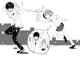 a certain magical index haha you can u0027t catch me