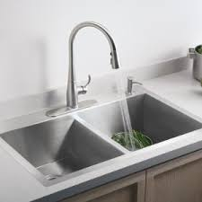 kohler kitchen sink faucet kohler k 596 vs simplice single pull kitchen faucet