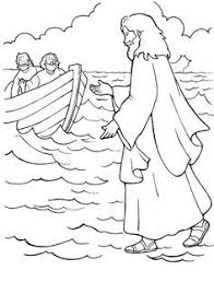 jesus feeds 5000 with 5 loaves and 2 fishes coloring page this