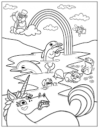 printable tractor coloring pages for kids to print easter cartoons