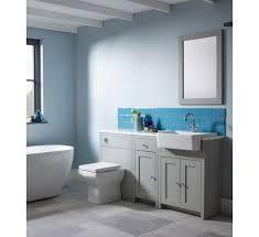 Bathroom Fitted Furniture Tavistock Lansdown Fitted Furniture 5 Bathroom Suite Pebble Grey