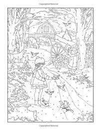 amazon creative haven winter wonderland coloring book