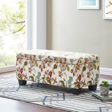 Animal Print Storage Ottoman Animal Print Storage Ottomans You Ll Wayfair
