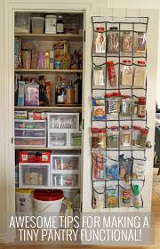 awesome tips and tricks for small pantry organization