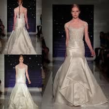 reem acra wedding dresses 2016 runway mermaid bridal gowns