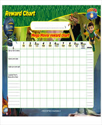 7 reward chart templates free sample example format download