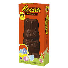 reese s easter bunny reese s easter peanut butter filled chocolate bunny 1 pound