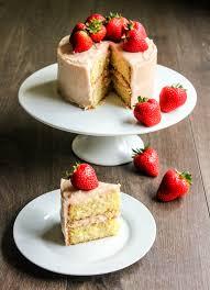 lemon strawberry mini cake cakes pinterest mini cakes
