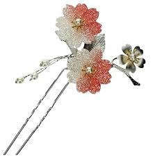 japanese hair pin poj traditional japanese hairpin accessories kanzashi color