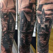 cemetery theme tattoo designs pictures to pin on pinterest
