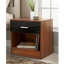 bedside table hugo 1 drawer bedside table bedroom furniture b m