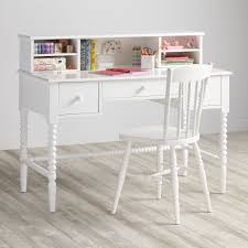 White Girls Desk With Hutch by White Kids Desks Hostgarcia
