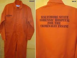 prison jumpsuit costume hannibal lecter orange baltimore prison jumpsuit costume