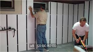 luxury insulated basement wall panels