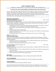 8 pharmaceutical sales rep resume offecial letter
