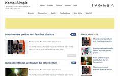 review beberapa template blogspot seo friendly responsive ringan