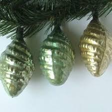 vintage glass pinecone ornaments via laurieanna s vintage
