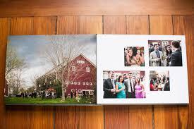 Wedding Picture Albums Boston Matte Wedding Album Designer Zev Fisher Creates Custom