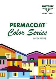 pacific paint boysen philippines inc permacoat latex