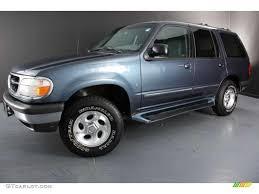 ford explore 1998 medium wedgewood blue metallic 1998 ford explorer xlt 4x4 exterior