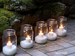 diy glitter snow for candles jar filler the inspired room