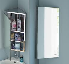 Mirrored Wall Cabinet Bathroom Beautiful Bathroom Cabinets Corner Wall Cabinet Of Best